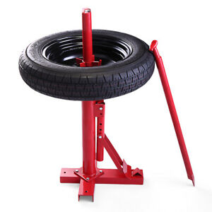 Manual Tire Changer Machine Portable For 8 16 Tires Mounting Demounting