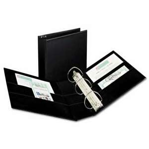 Avery Durable Binder With Two Booster Ezd Rings 11 X 8 1 2 4 077711078017