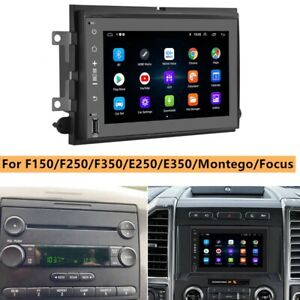 For 2004 2014 Ford F150 250 350 450 550 7 Android 9 0 Car Radio Stereo Wifi Gps