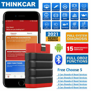 All System Diagnostic Scan Tool Bluetooth Dongle Car Maintenance Kit Thinkdiag