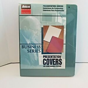 Ibico Presentation Covers Comb Binding Systems New Forest Green Linen 25pk