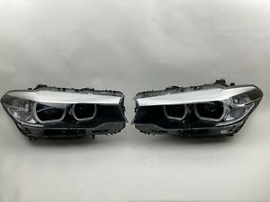 Great 2017 2020 Bmw 5 Series M5 G30 Non Afs Led Left Right Side Headlight Oem
