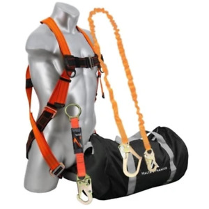 Malta Dynamics Safety Harness Kit With 6 Ft Single Leg All Styles