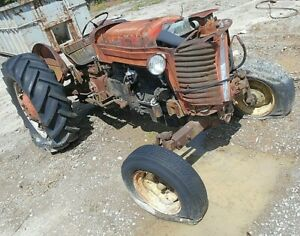 Massey To65 For Parts diesel as Is