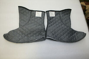 US Combat Bootie Liner Military Intermediate Cold Weather Inserts size 9W XW $13.00