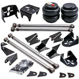 Weld On 4 Link Kit Brackets 2500 Bags Air Ride Suspension 2 75 Axle Mount