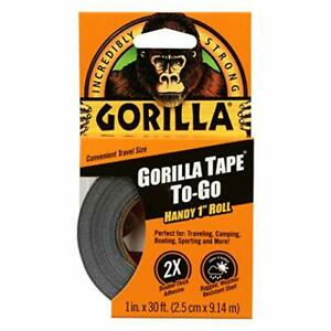 Duck Tape Handy Roll 1 pack Black New With Free Shipping