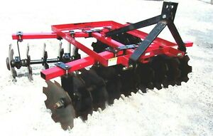Used 2018 Lowery Lmc Hd 6 Ft Disc Harrow free 1000 Mile Delivery From Ky