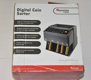 Cassida C300 Professional Usd Coin Counter Sorter And Wrapper roller
