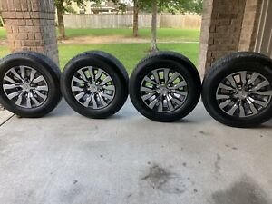 2020 Toyota Tacoma Limited Alloy Wheels 18 And Michelin Tires