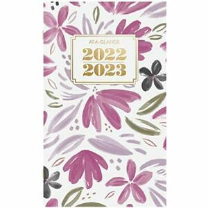 2022 2023 Pocket Calendar By At a glance 2 Year Monthly Planner 3 1 2 X 6 New