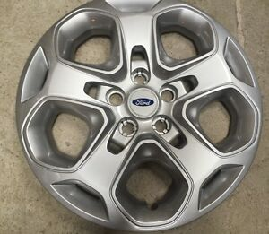 1 New 7052 2010 2011 2012 Ford Fusion Hubcap Wheel Cover Bolt On 17
