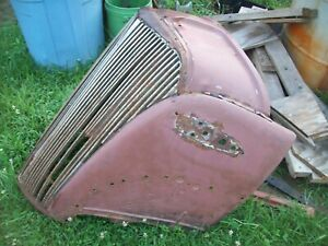 1937 Chevy Car Front Nose Grill Gasser 37 Conv Coupe Sedan Jalopy Rat Rod Hot