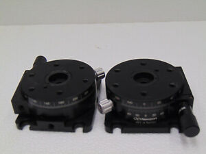 Nrc Newport 481 a Locking Rotary Positioner W Base Plate And 25 Insert