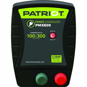 New Patriot Pmx600 Fence Energizer 6 0 Joule For Electric Fence