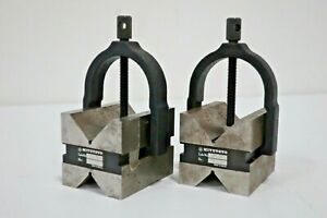 Mitutoyo 181 904 V block Set With Clamp 17292