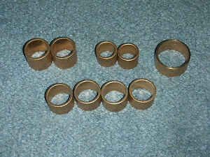 New 9 Piece Quick Change Gearbox Bushing Repair Kit For 10 Inch Atlas Lathes