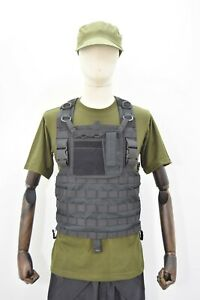 MOLLE Special OPS Black Chest Rig With Admin Pouch SAS Army SF Ex Film Stock GBP 30.00