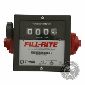 Used Fill rite 901c 1 6 40 Gpm 4 Digit Mechanical Fuel Transfer Meter