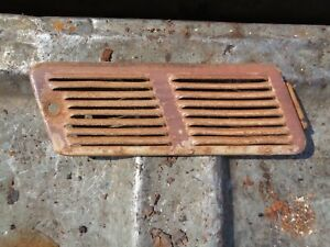 Ford Tractor Jubilee 600 800 Hood Air Breather Grill Door Panel