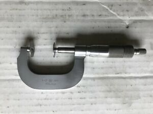 tested Mitutoyo 1 2 Inch Disc Micrometer 0 001 Res