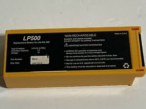 Physio control Lifepak 500 Replacement Battery Lp 500