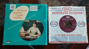Dictation Disc Shorthand Dictation For Speed Building 52 Speed Development