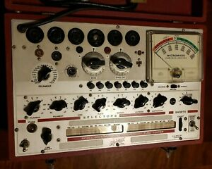 Hickok Model 600 A Dynamic Mutual Conductance Tube Tester