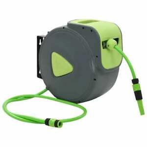 Automatic Retractable Water Hose Reel Wall Mounted 98 4 6 6