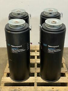 Set Of 4 Newport Stabilization Table Legs I2000 Laminar Flow Isolation E11a
