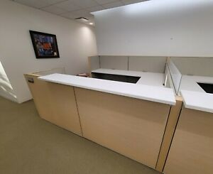 High Quality Haworth Office Cubicles Excellent Condition