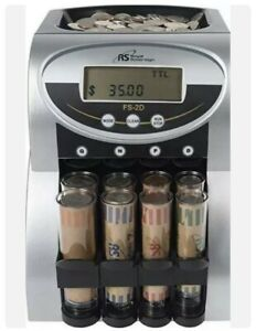 Royal Sovereign 2 Row Electric Coin Counter Patented Anti Jam Technology Fs 2d