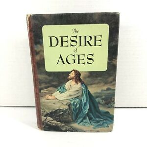 THE DESIRE OF AGES Ellen G. White 1956 Special Edition Pacific Press Hardcover $14.95