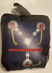 Back To The Future Flux Capacitor Collapsible Duffel Bag Tote Travel Loot Crate