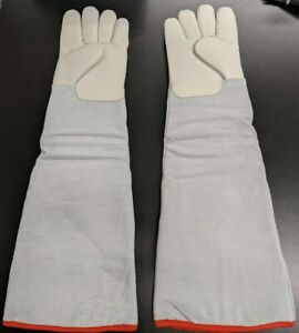 Cryogenic Cold Safety Gloves Waterproof Low Temp Resistant Ln2 Protective