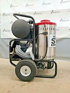North Star 157308 Electric Wet Steam Hot Water Pressure Washer 2750 Psi 2 5 Gpm