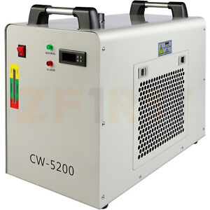 6l Industrial Water Chiller Equipment For Laser Welding Machine Co2 Glass Tube