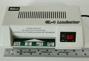 Ibico Gl 4 Small Desktop Laminator Up To 4 Wide For Photo Id business Cards