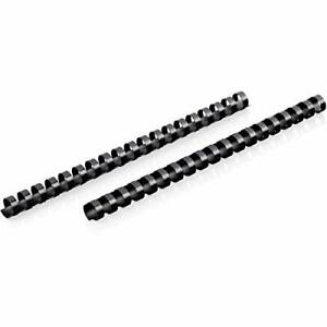 Mead Combbind Binding Spines spirals coils combs 3 4 150 Sheet Capacity Blac