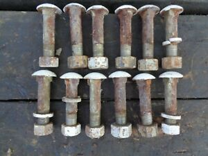 Ford Tractor Jubilee 600 800 Rear Wheel To Rim Mount Bolts 12 Ft Carriage Hd