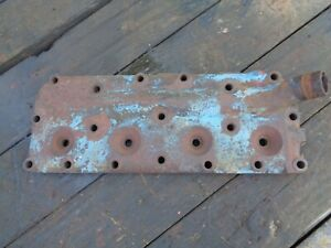 Ford Tractor 8n Engine Head For Side Distributor Blocks