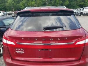 16 18 Lincoln Mkx Oem Trunk Hatch Decklid Lift Gate Assembly Painted Red