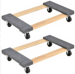 2 Packs Moving Carrier 1000lbs Capacity Furniture Dolly 3018