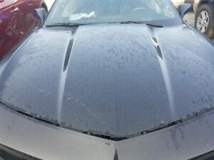 10 15 Chevy Camaro Oem Hood Assembly Painted Black Without Hood Scoop