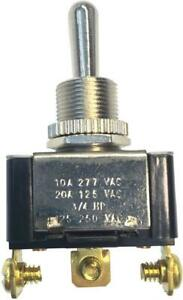 Heavy duty Electrical Toggle Switch On off 125v Screw Terminal Stainless Steel