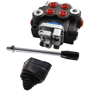1pack Spool Hydraulic Directional Control Valve Tractor Loader Joystick 11gpm