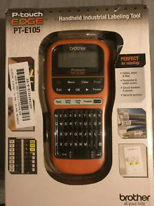 Brother P touch Edge Pt e105 Electrical Cable And Wiring Label Maker new