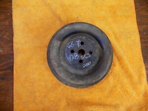 428 Ford Cobra Jet Water Pump Pulley C8ae 8509 C 1969 1970 Mustang Shelby Mach 1