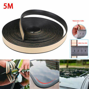 16ft Rubber Seal Strip Trim For Car Front Rear Windshield Sunroof Weatherstrip