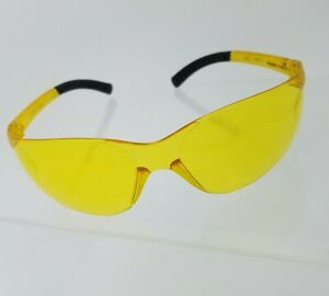 Amber Safety Glasses By Pro Vizgard Protective Eyewear Clear Yellow 3 Pair Lot